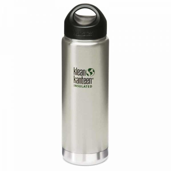 Klean Kanteen Insulated Stainless Steel Bottle 592ml - Steel