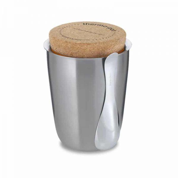 stainless steel thermo pot food flask by black+blum