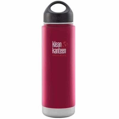 Klean Kanteen Insulated Stainless Steel Bottle in Roasted Pepper - 592ml
