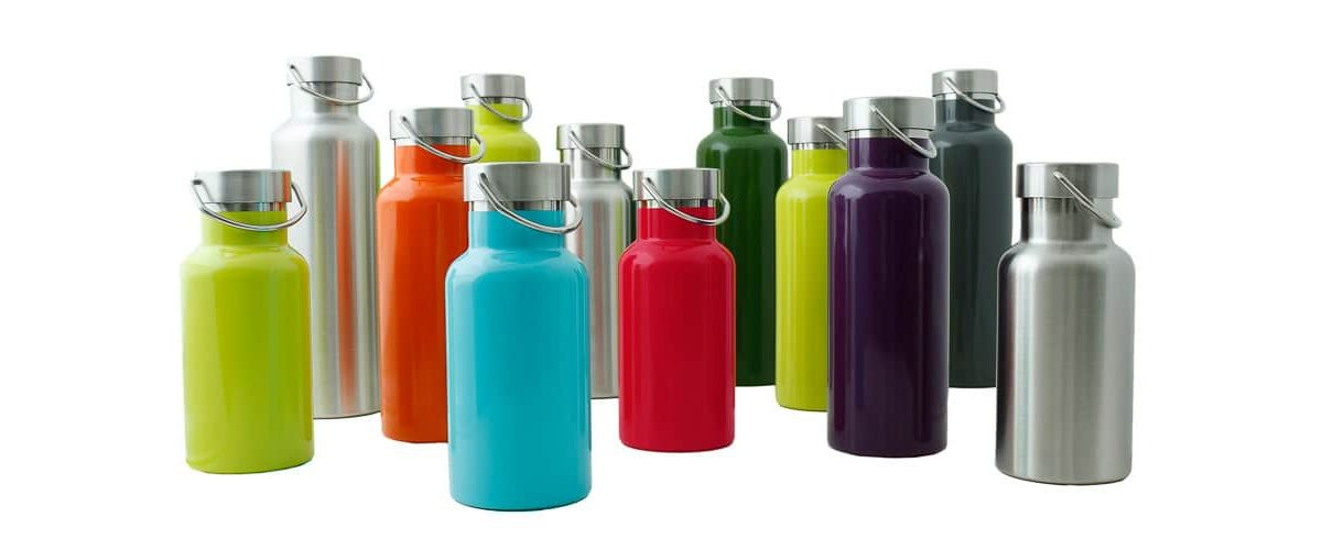 insulated stainless steel reusable bottles