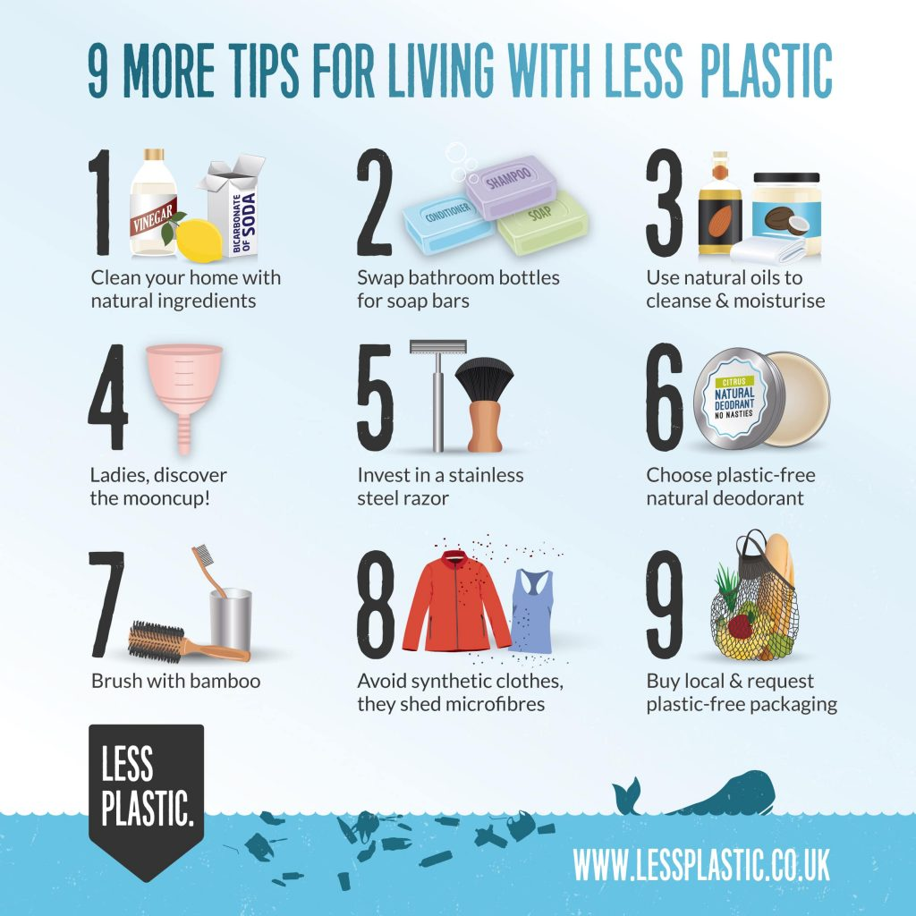 9 More Tips For Living With Less Plastic Less Plastic