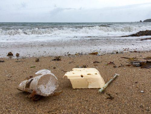 thurlestone beach plastic