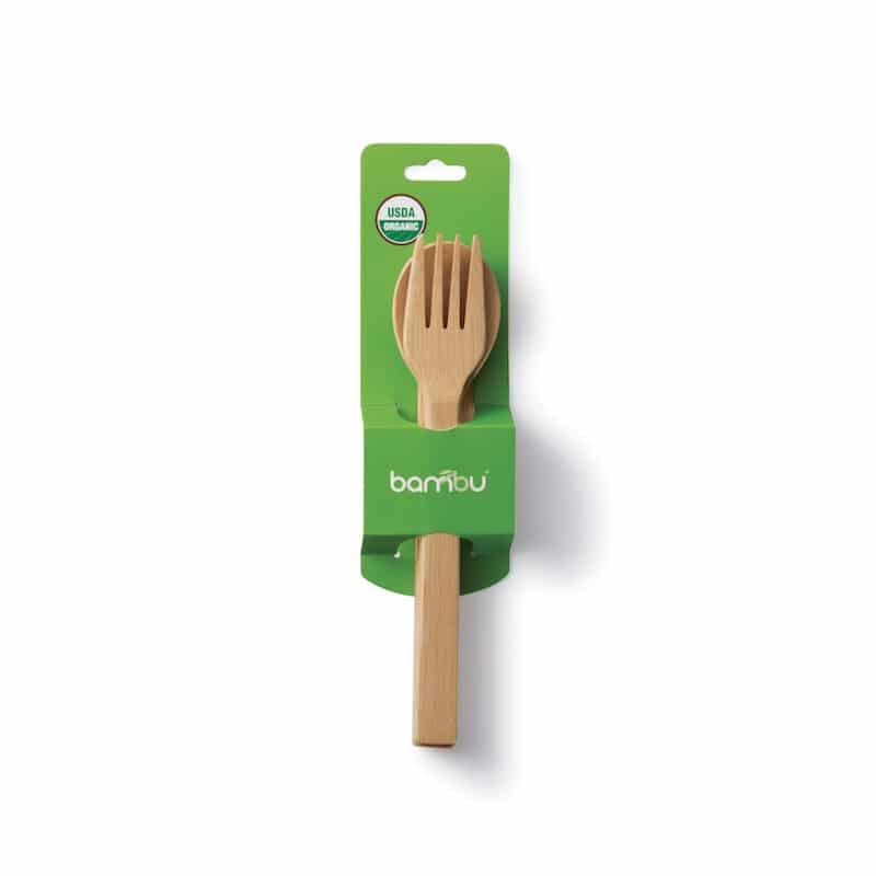 reusable bamboo cutlery
