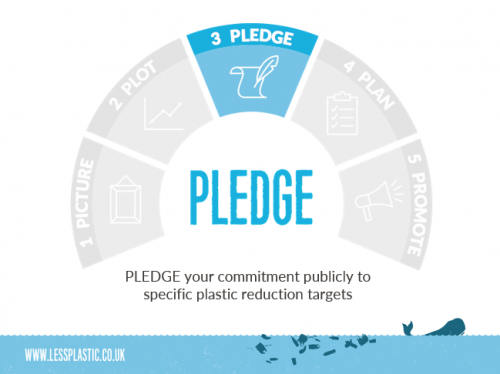 5 Ps to become a Plastic Game Changer - 3 Pledge